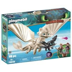 Furie Éclair et bébé avec enfants - PLAYMOBIL Dragons - 70038