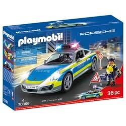Porsche 911 Carrera 4S Police - PLAYMOBIL Porsche - 70166