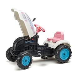 Tracteur Butterfly avec remorque