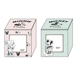 Photo box en bois Mickey/Minnie