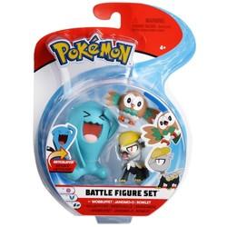 Pack 3 figurines Pokémon