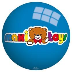 Ballon en plastique bleu Maxi Toys - 23 cm
