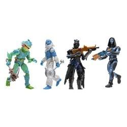 Pack de 4 figurines Fortnite