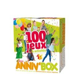 Anniv'Box - Coffret 100 jeux + activités