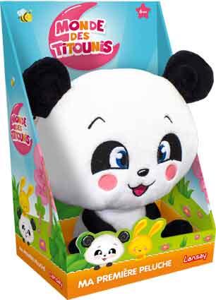 Ma première peluche Titounis - Panda