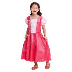 Déguisement de princesse Rose - Taille 128