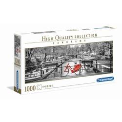Puzzle Panorama 1000 pièces - Bicyclettte à Amsterdam