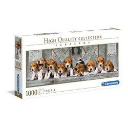 Puzzle Panorama 1000 pièces - Beagles