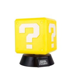 Lampe veilleuse 3D Super Mario - Point d'interrogation
