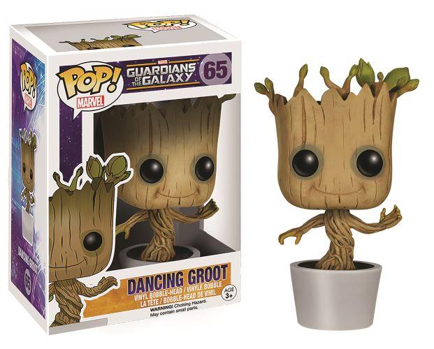 Figurine Funko Pop! Les Gardiens de la Galaxie - Groot dansant