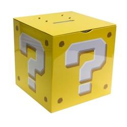 Tirelire Super Mario - Point d'interrogation