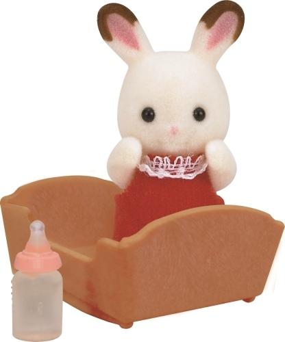 Bébé lapin chocolat - Sylvanian Families - 5062