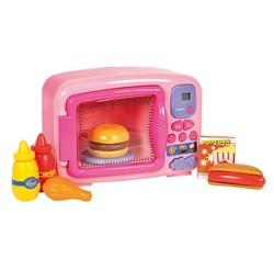 Micro-ondes rose avec accessoires