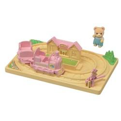 Train Tchou-Tchou et bébé ours - Sylvanian Families - 5320
