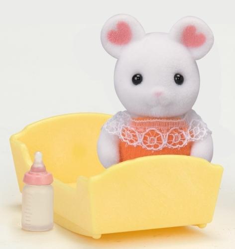 Bébé souris marshmallow - Sylvanian Families - 5336