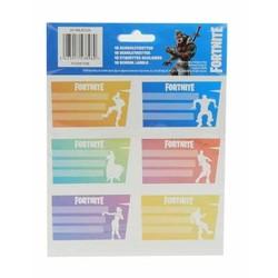 18 étiquettes scolaires Fortnite