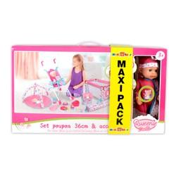 Maxi Pack Poupon 36 cm et accessoires