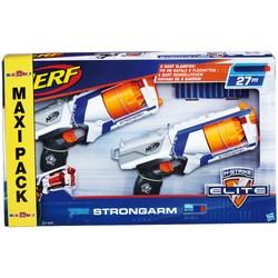 Maxi Pack Nerf Elite Strongarm - Pack de deux pistolets