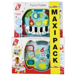 Maxi Pack Sophie la girafe - Piano'folies et Centre d'activités