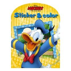 Sticker & Color Walt Disney