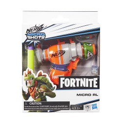 Mini pistolet Nerf MicroShots Fortnite