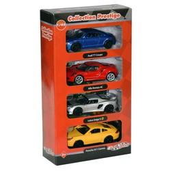 Coffret de 4 voitures de collection