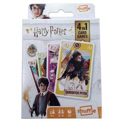 Harry Potter - Jeux de cartes 4 en 1