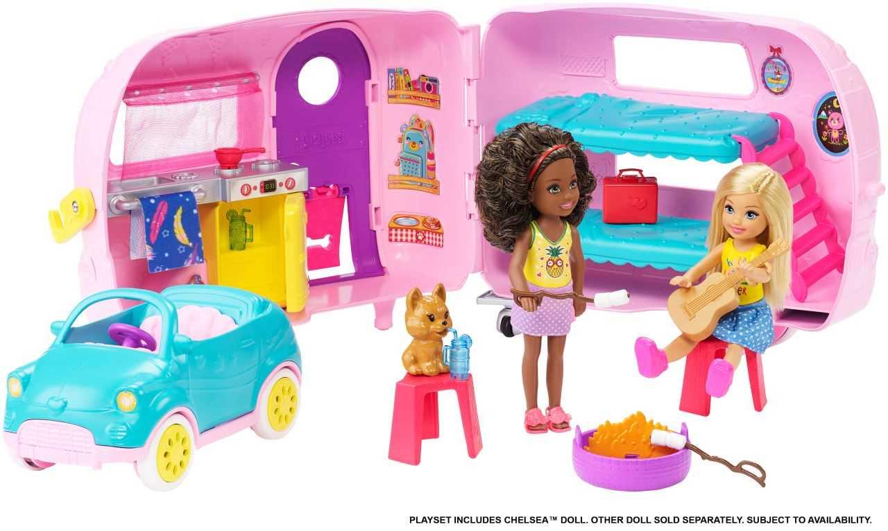 Barbie - Chelsea et sa Caravane