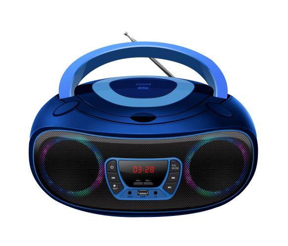 Boombox USB Bleu