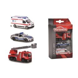 pack 3 voitures SOS Majorette