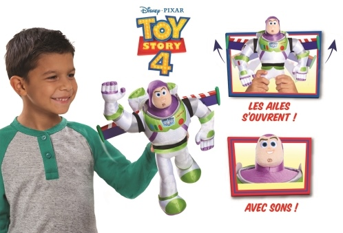 Toy Story 4 - Peluche interactive Buzz l Eclair