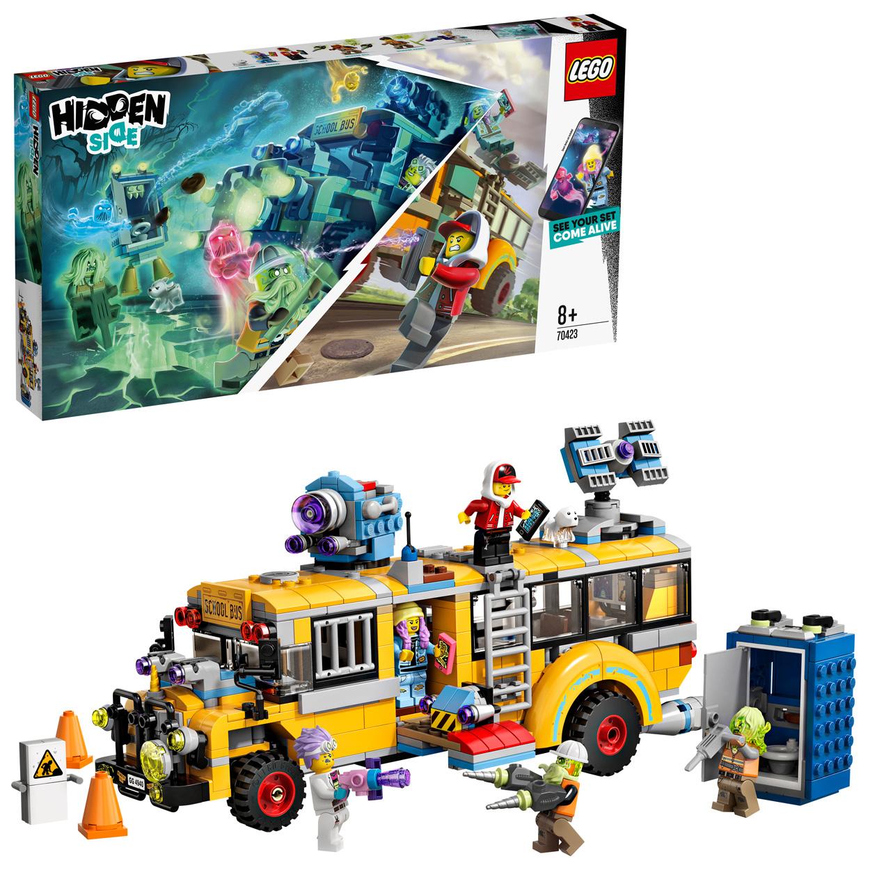 Le bus scolaire paranormal - LEGO Hidden Side - 70423