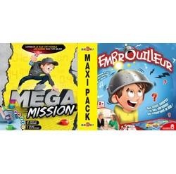 Maxi Pack Mega Mission + L'embrouilleur