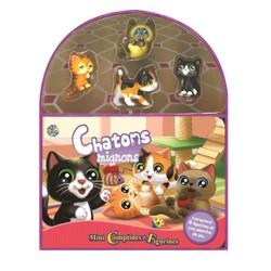 Chatons mignons - Mini comptines et figurines