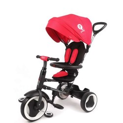 Tricycle QPlay pliable Rito - Rouge