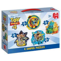Disney - 4 puzzles forme Toy Story 4