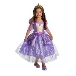 Robe de princesse Mauve - Taille 128