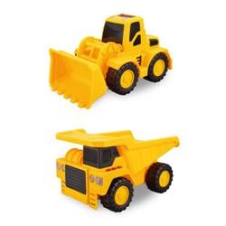 Maxi Pack 2 véhicules de chantier