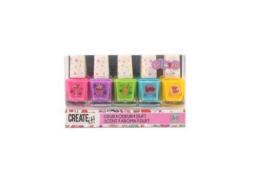 Set de 5 vernis parfumés Create it!
