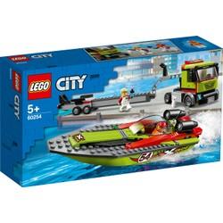 Le transport du bateau de course - LEGO City - 60254