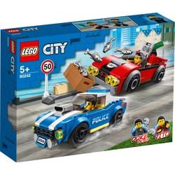 La course-poursuite sur l'autoroute - LEGO City - 60242