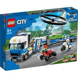 Le transport de l'hélicoptère de la police - LEGO City - 60244