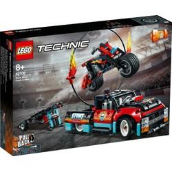 Le spectacle de cascades du camion et de la moto - LEGO Technic - 42106