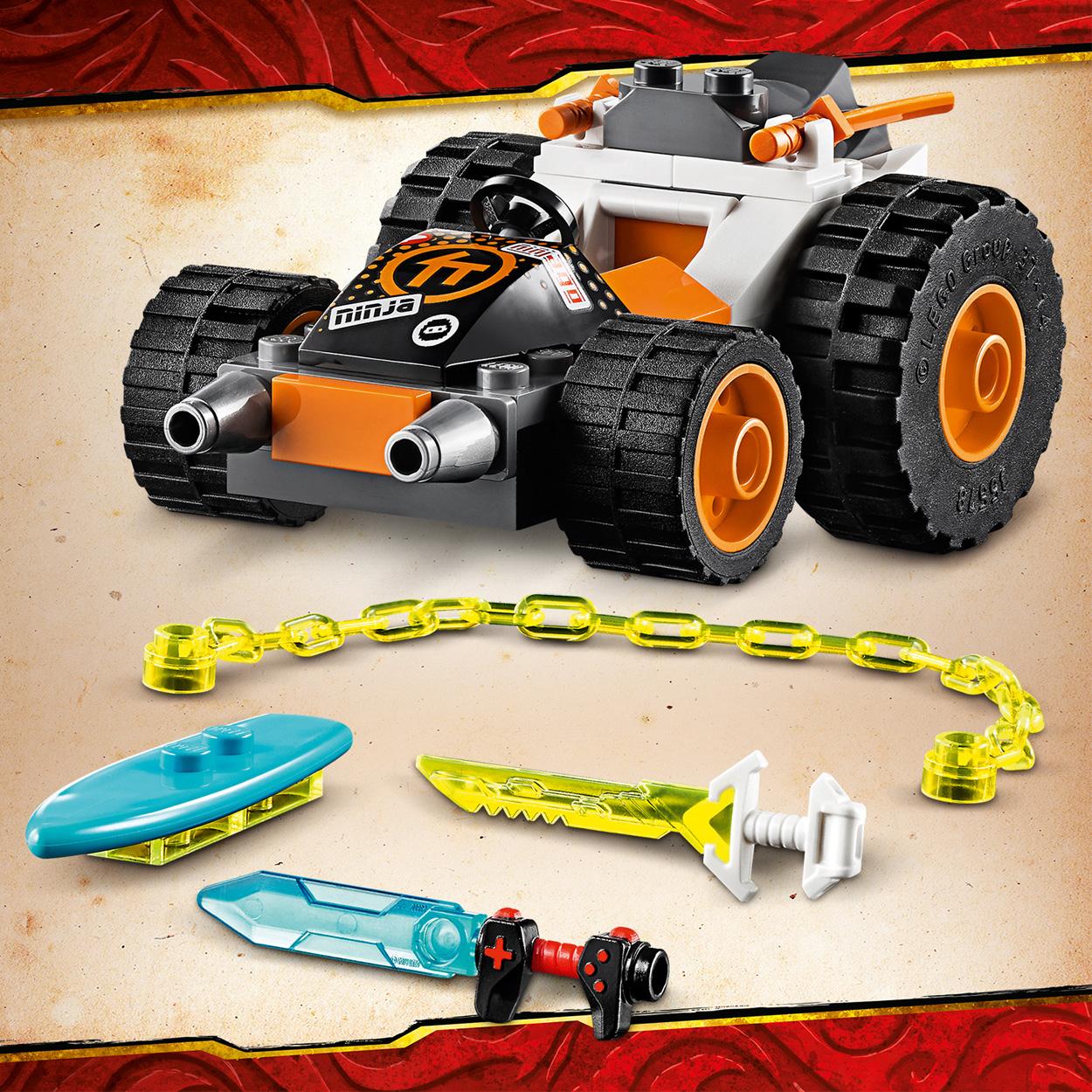 Le bolide de Cole - LEGO Ninjago - 71706