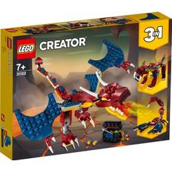 Le dragon de feu - LEGO Creator - 31102