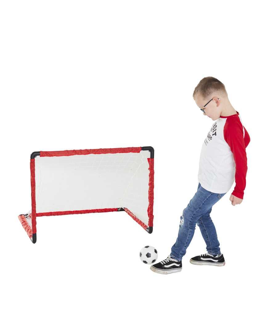 Goal de foot pliable