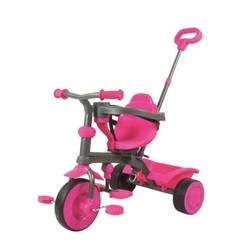 Tricycle évolutif avec siège rotatif - Rose
