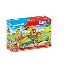 Parc de jeux et enfants - PLAYMOBIL City Life - 70281