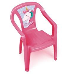 Chaise plastique Licorne