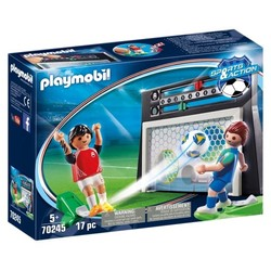 Cage avec tirs aux buts -  PLAYMOBIL Sports & Action - 70245